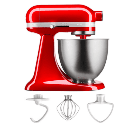 KitchenAid keukenmachine Rood